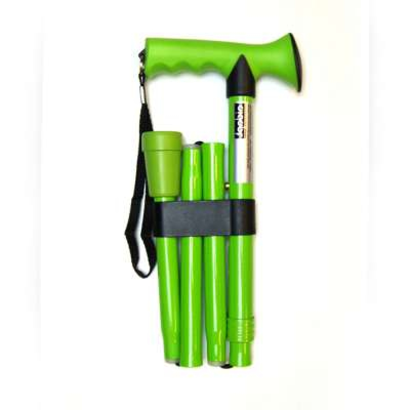 Aidapt Rubber Grip Folding Walking Stick