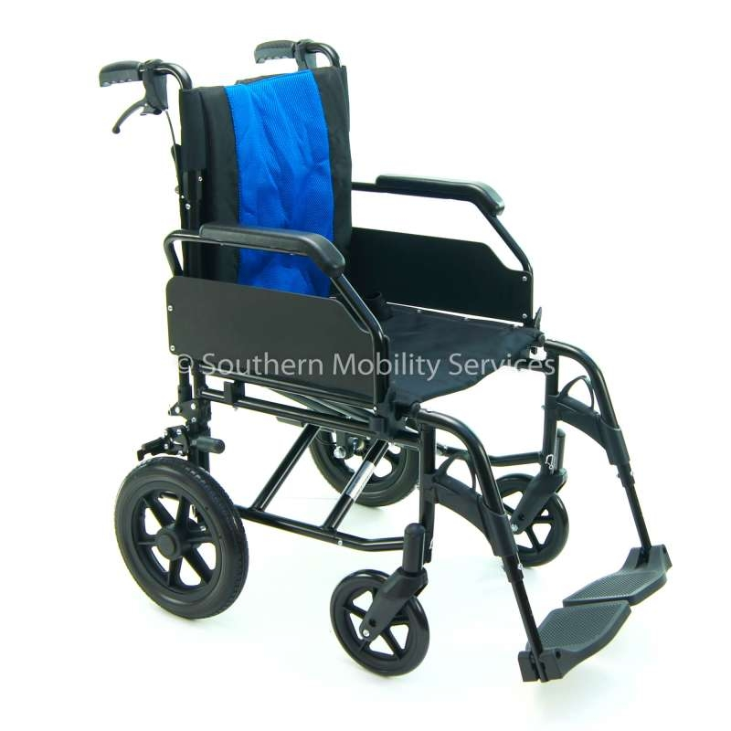"""Black Edition"" Easy1 Transit Wheelchair"