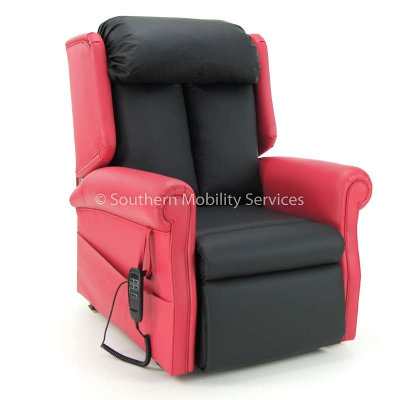 Rise & Recline T Back Dual Motor Riser Recliner Chair