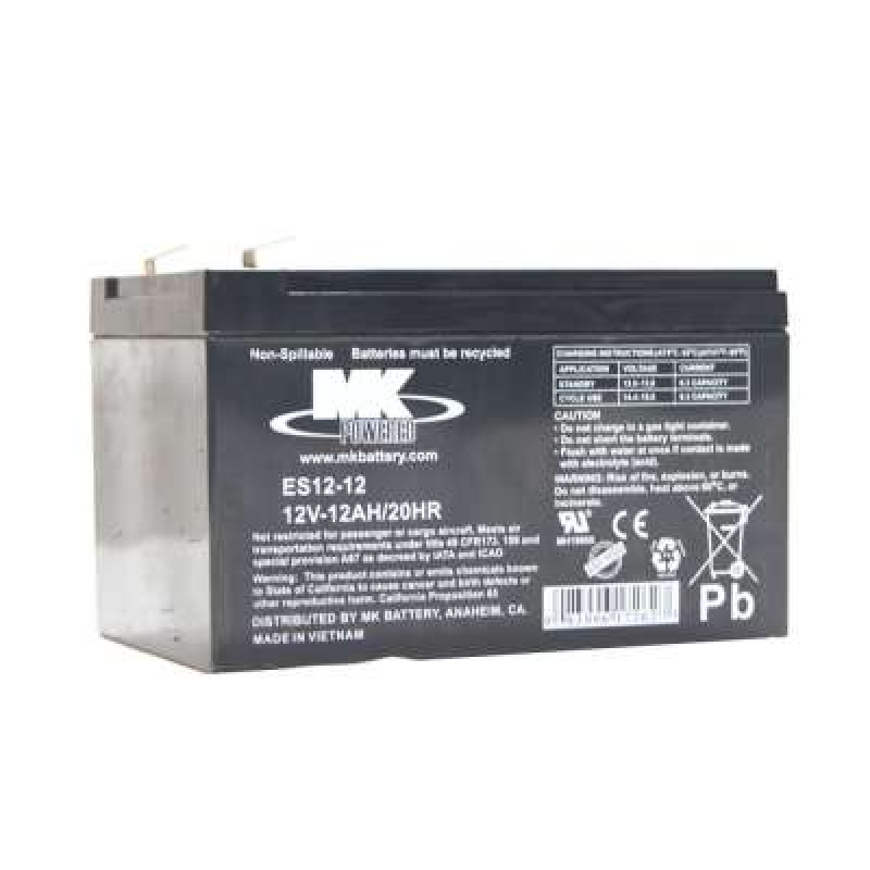 MK Batteries 12Ah Sealed Lead Acid