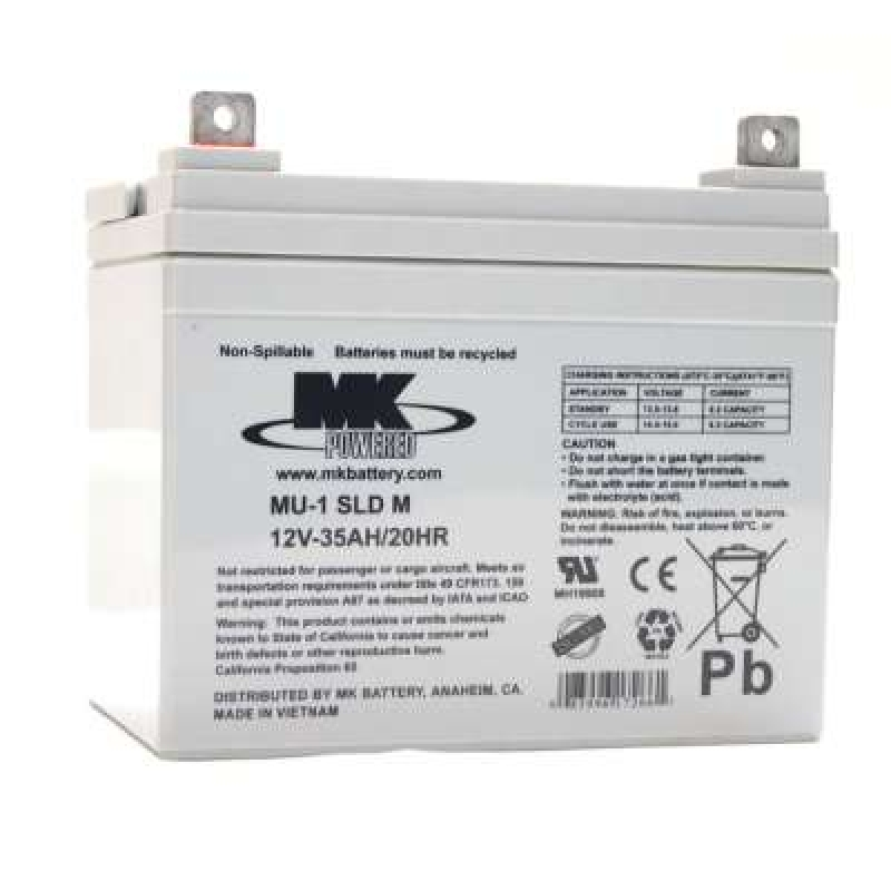 MK Batteries 35Ah Sealed Lead Acid