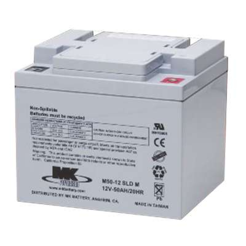 MK Batteries 50Ah Sealed Lead Acid