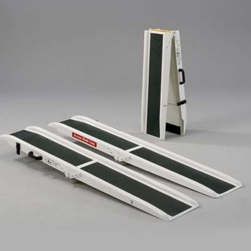 Jetmarine 6ft Fibre glass folding portable channel ramps