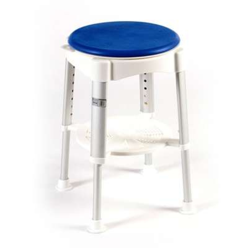Drive Devilbiss Round shower stool with rotating seat