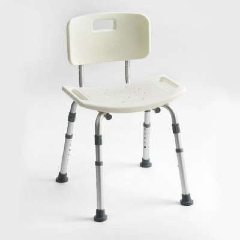 Drive Devilbiss Height adjustable aluminium shower chair