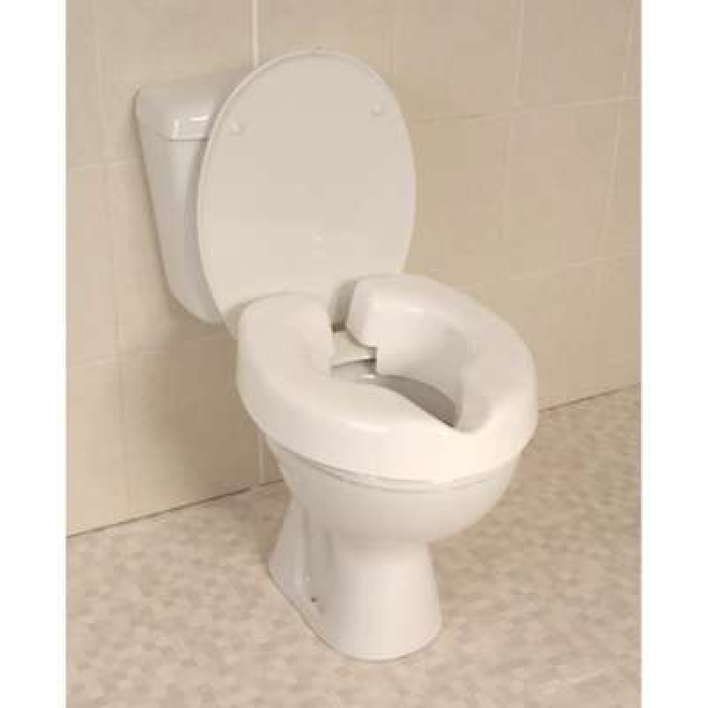 NRS Novelle Clip-On Raised Toilet Seat