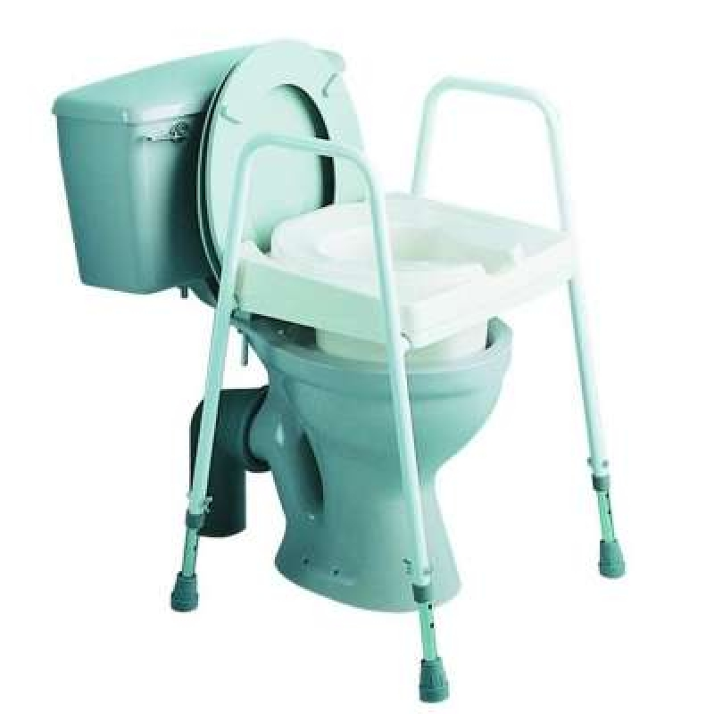 Drive Devilbiss Cosby Adjustable Raised Toilet Aid