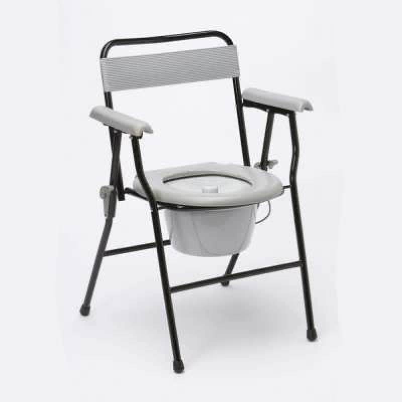 Drive Devilbiss Portable Folding Commode Chair