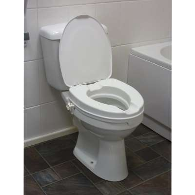 Drive Devilbiss Raised Toilet Seat with Lid
