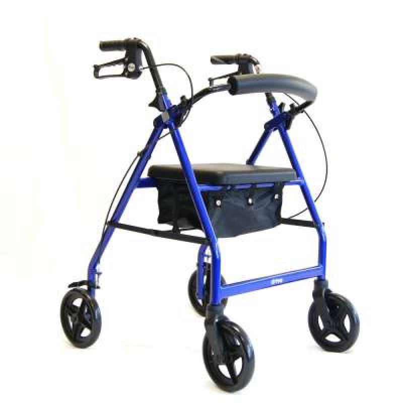 Drive Devilbiss Folding Four wheel Aluminium Walker
