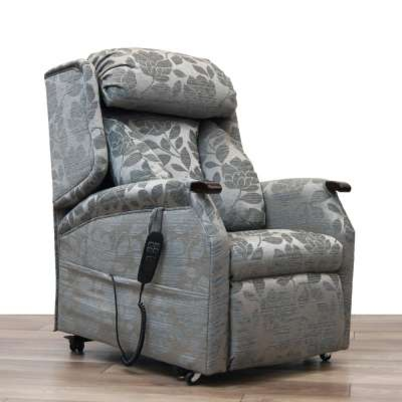 Rise & Recline Lateral Back Dual Motor Riser Recliner