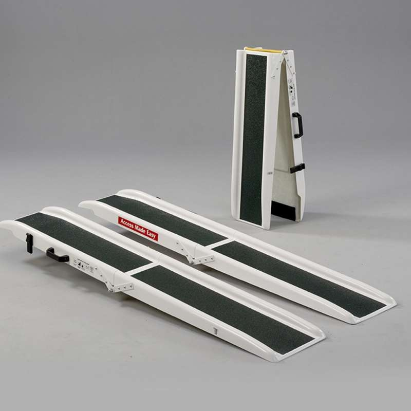 Jetmarine 8ft Fibre glass folding portable channel ramps