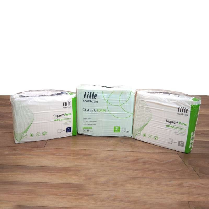 Lille Supreme Form Maxi Shaped Pads
