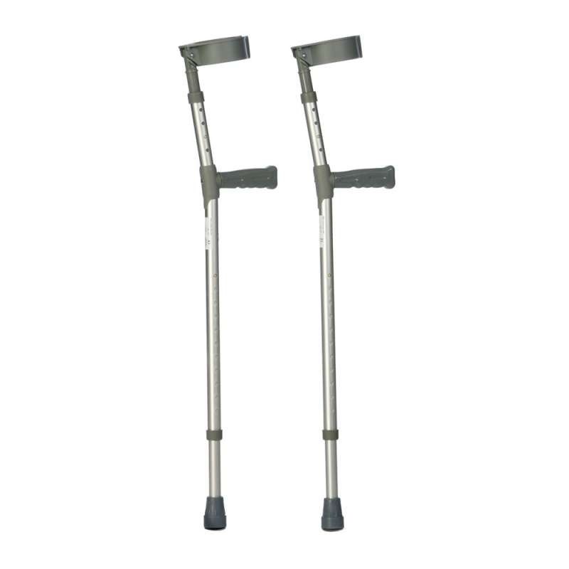 Drive Devilbiss Double Adjustable Aluminium Crutches