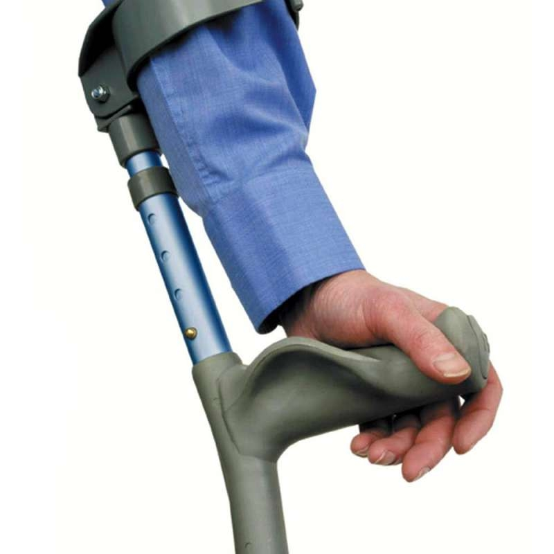 Able2 Adjustable Coloured Forearm Crutches