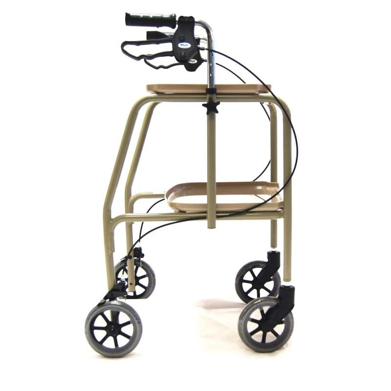 Drive Devilbiss Indoor Walking Trolley with Brakes