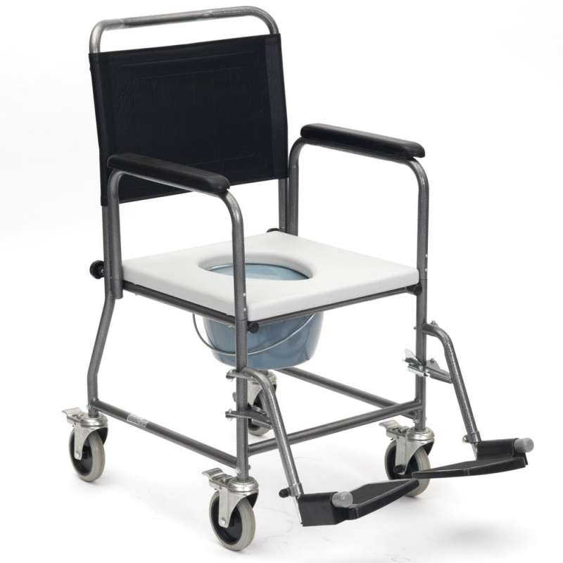 Drive Devilbiss Glideabout Wheeled Commode Chair