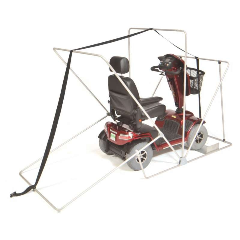 Secure Mobility Scooter Shelter