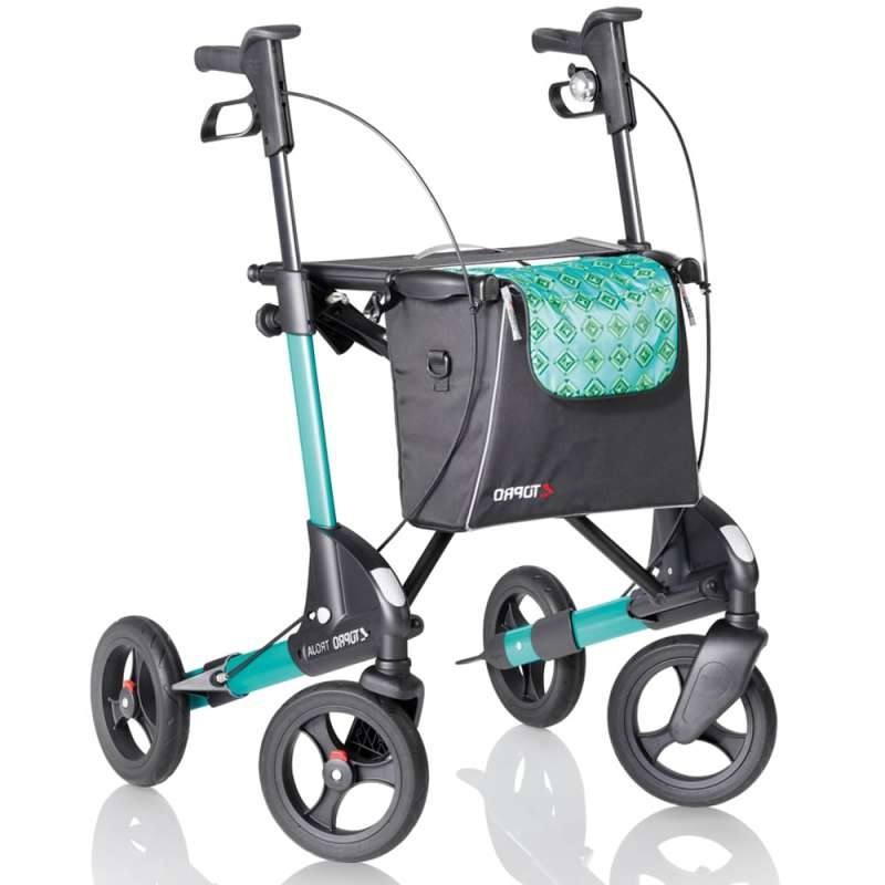 3068f73c9935da 4 Wheel Walker Topro Troja Premium Lightweight Rollator In Basingstoke