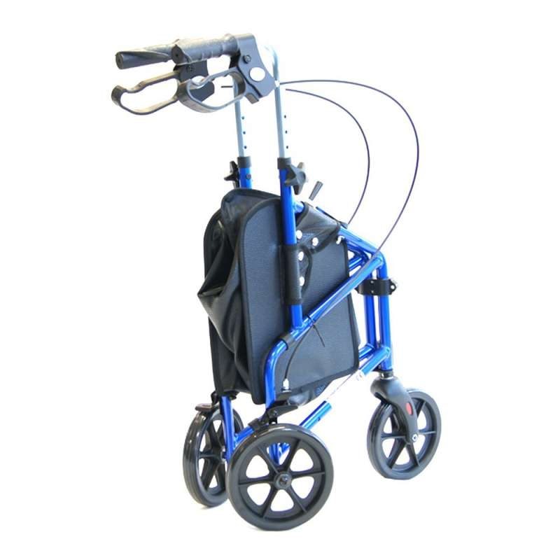 Z-Tec Ultralite Compact Tri Walker with basket
