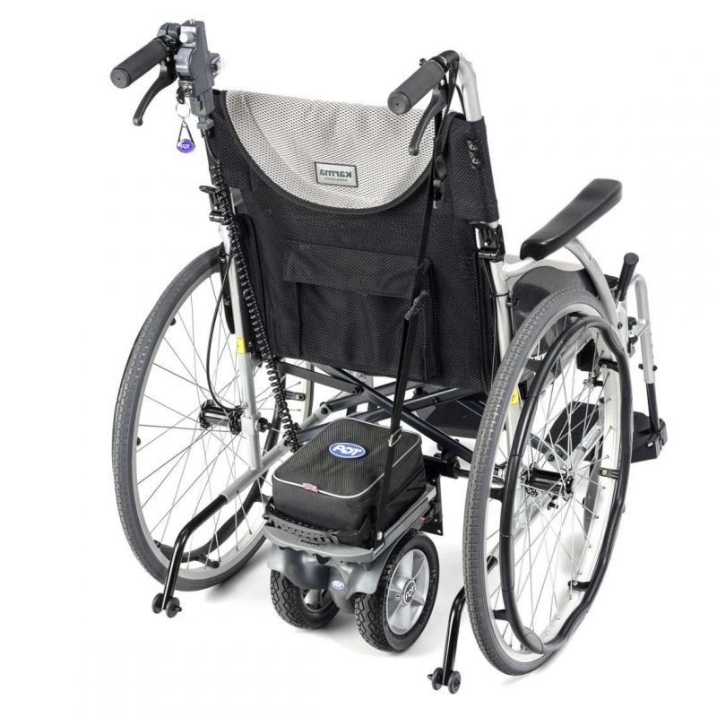 Powerpack Twin Shown On A Self Propelled Wheelchair
